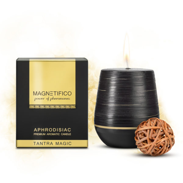 Afrodiziakálne vonné sviečky TANTRA MAGIC