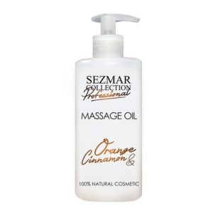 Hristina Prírodný masážny olej pomaranč & škorica 500 ml