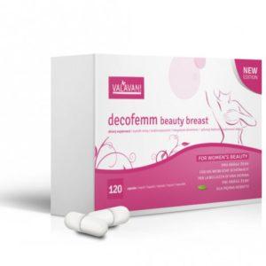 VALAVANI DecoFemm Beauty Breast 120 kapsúl na zväčšenie pŕs Varianta produktu: Akcia 2+1 ZDARMA (360 kapsúl)